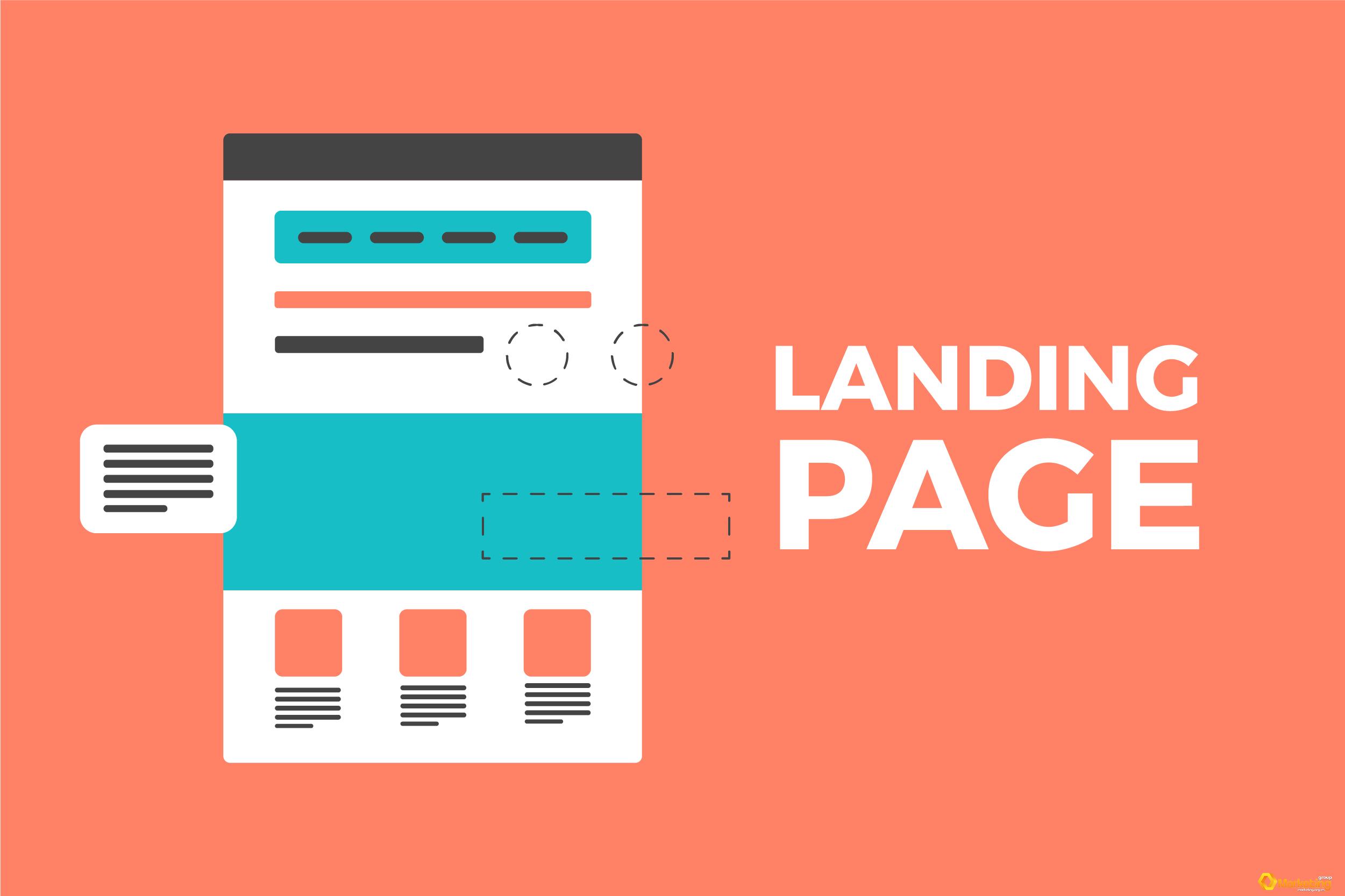 Dịch vụ thiết kế Landing Page